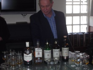 Chris Brousseau and Ballantines