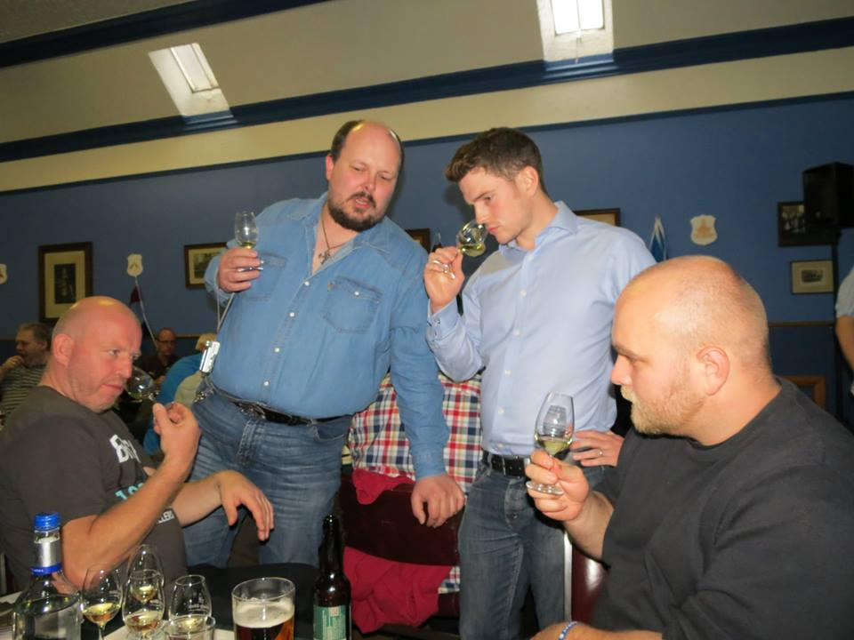Berry Brothers tasting - Hiro's pic
