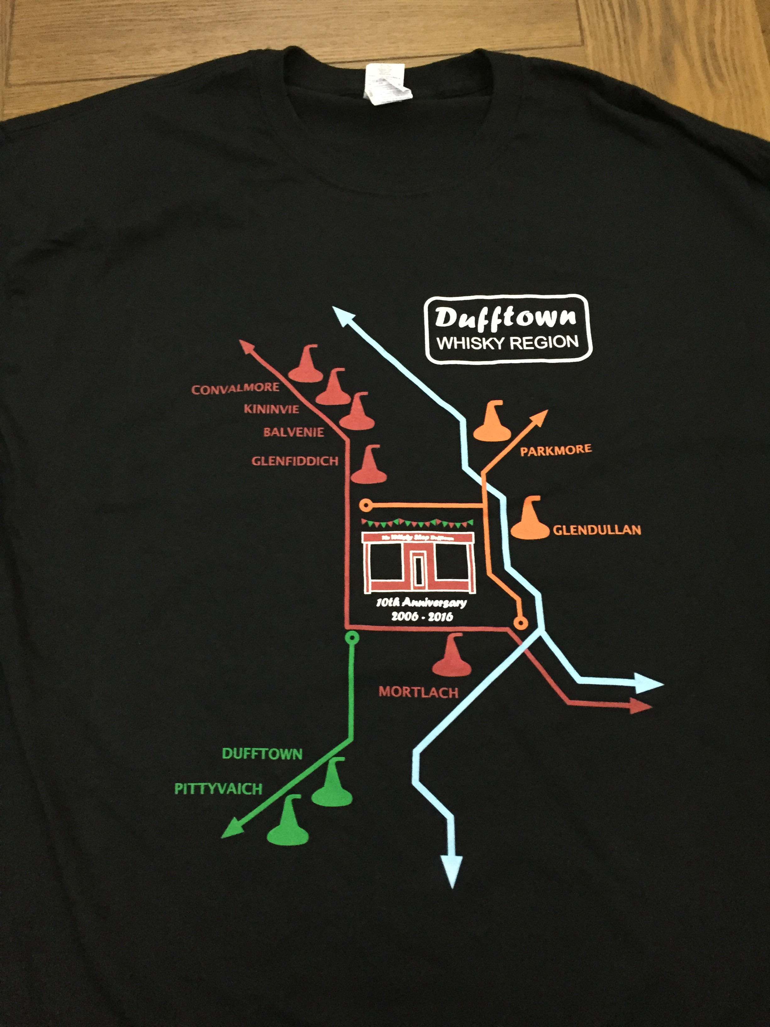 WSD Dufftown Region T-Shirt v1