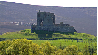 Auchindoon Castle