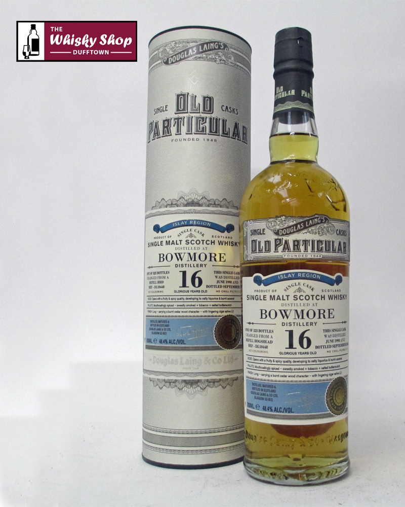 Old Particular Bowmore 1998 16
