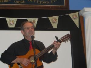 Robin Laing music night WSD