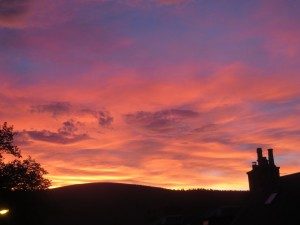 Dufftown Sunset