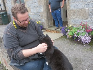 Leif Olav - friend of Dufftown cats