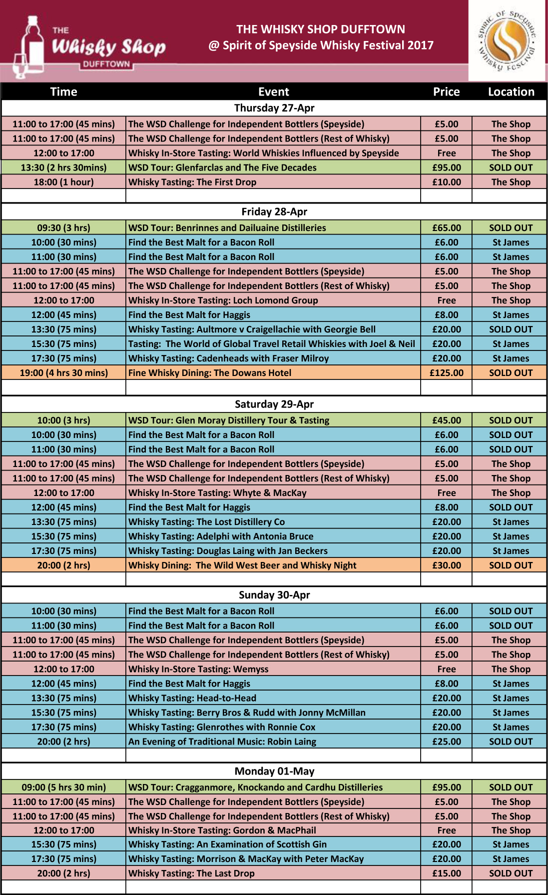WSD 2017 SofSWF Timetable 20170201