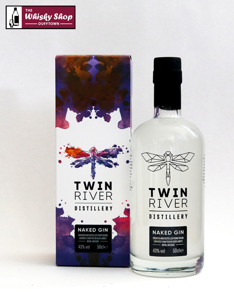 Twin River Distillery Naked Gin | The Whisky Shop Dufftown
